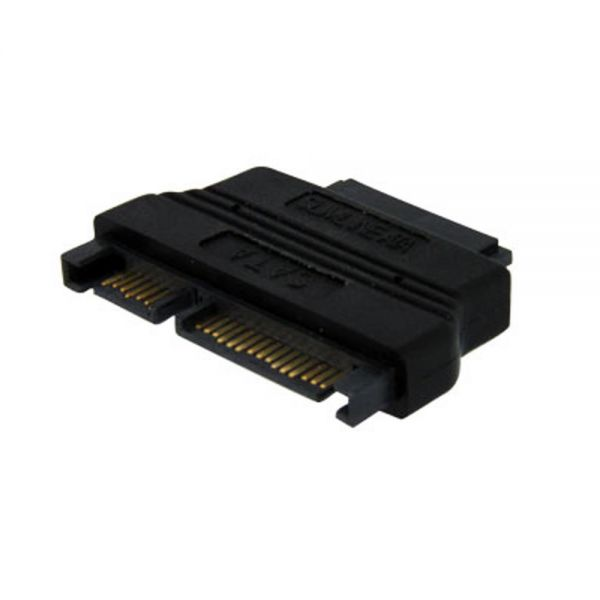StarTech.com Slimline SATA to SATA Adapter with Power - F/M