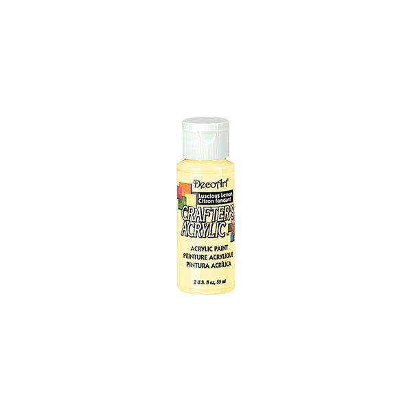 Deco Art Crafter's Acrylic Luscious Lemon Acrylic Paint