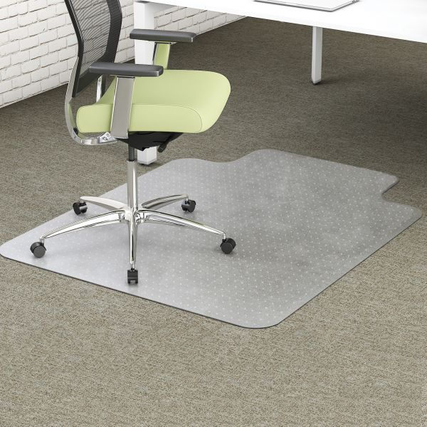 Deflecto EnvironMat Recycled Low-Pile Chair Mat