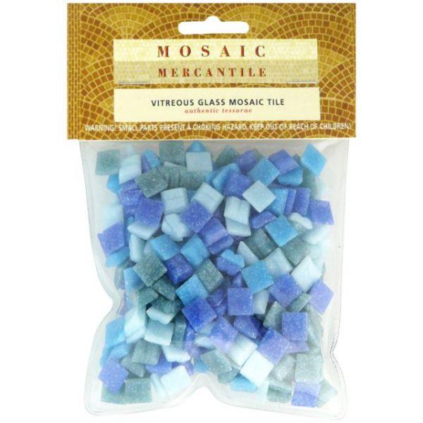 Vitreous Glass Mosaic Tiles .5lb
