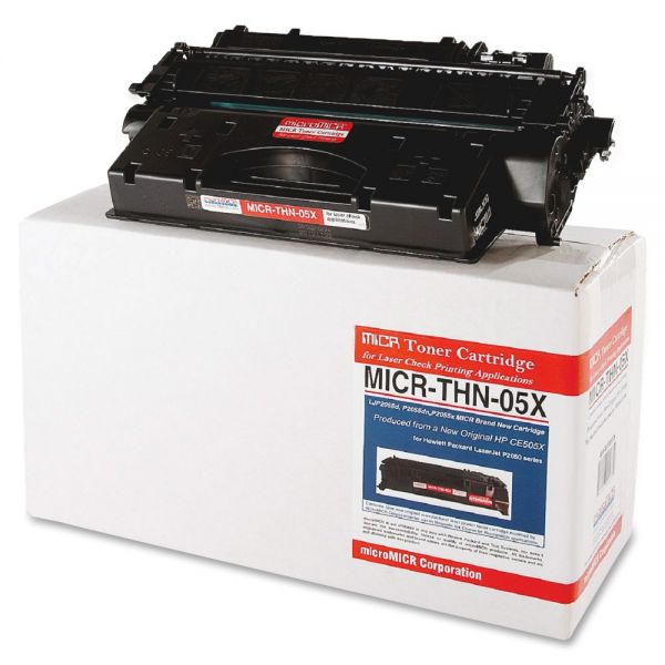 Micromicr Corporation Remanufactured HP CE505X Black Toner Cartridge