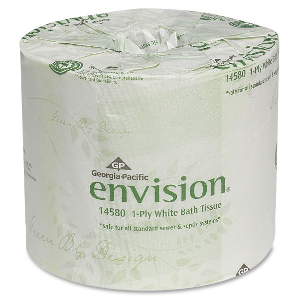Envision 1 Ply Toilet Paper
