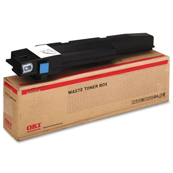 Oki Waste Toner Bottle for Okidata C9600/C9800 Series Printers, 30K Page Yield