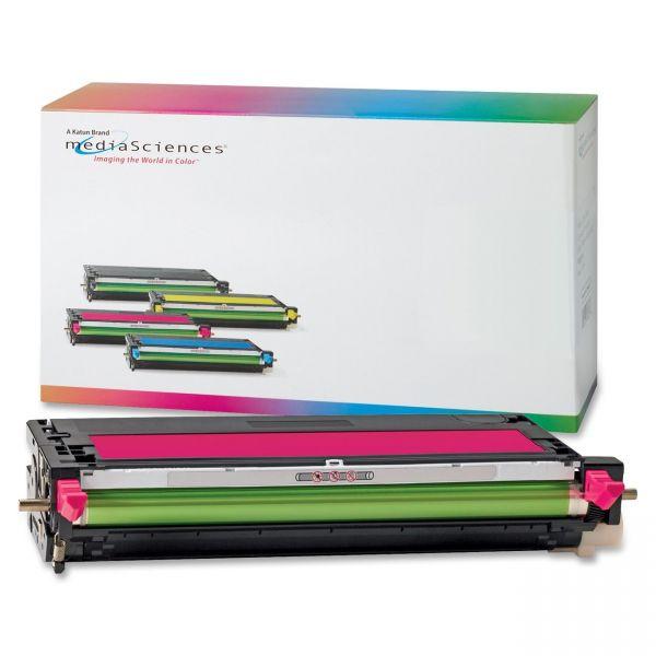 Media Sciences Remanufactured Dell 330-1195 Magenta Toner Cartridge
