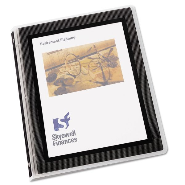 "Avery Flexi-View 1/2"" Presentation Binder"