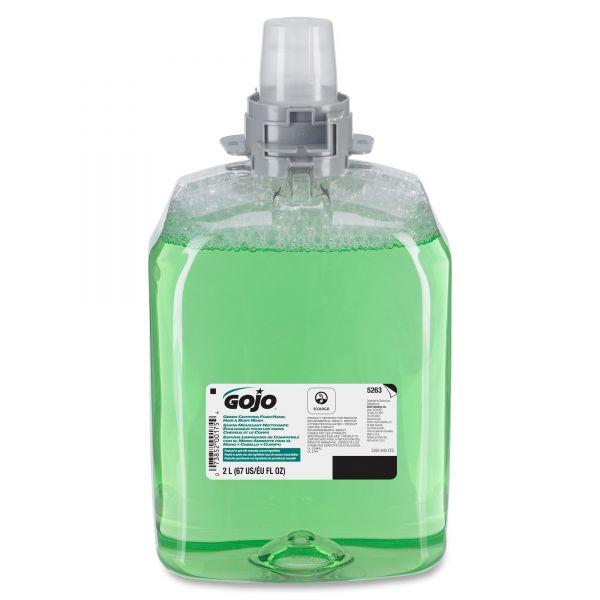 GOJO FMX Green Certified Foam Hair & Body Wash Refills