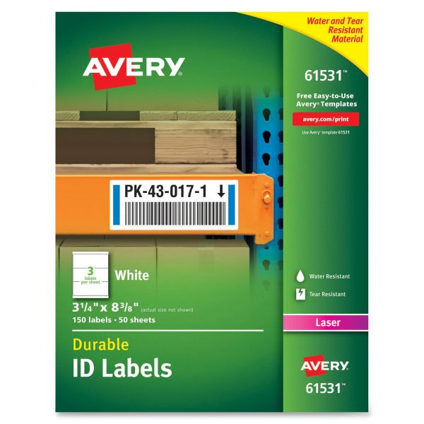 Avery Durable ID Labels
