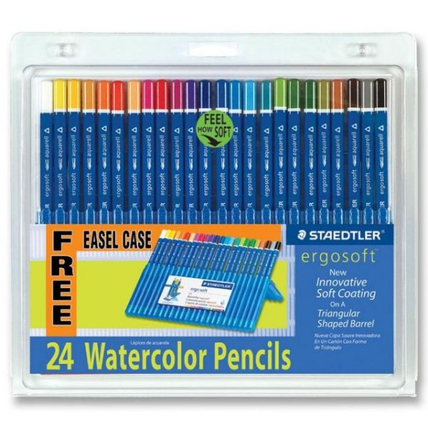 Staedtler Ergosoft Watercolor Pencils
