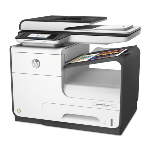 HP PageWide Pro 477dw Multifunction Printer, Copy/Fax/Print/Scan