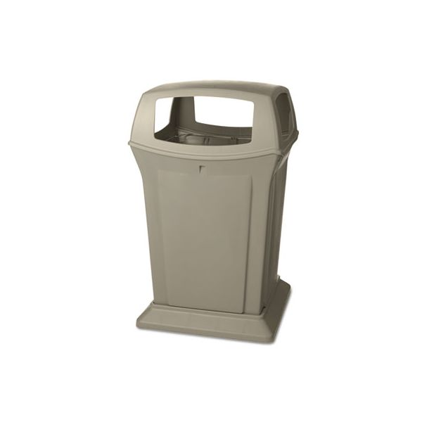 Rubbermaid Ranger Fire-Safe 45 Gallon Trash Can