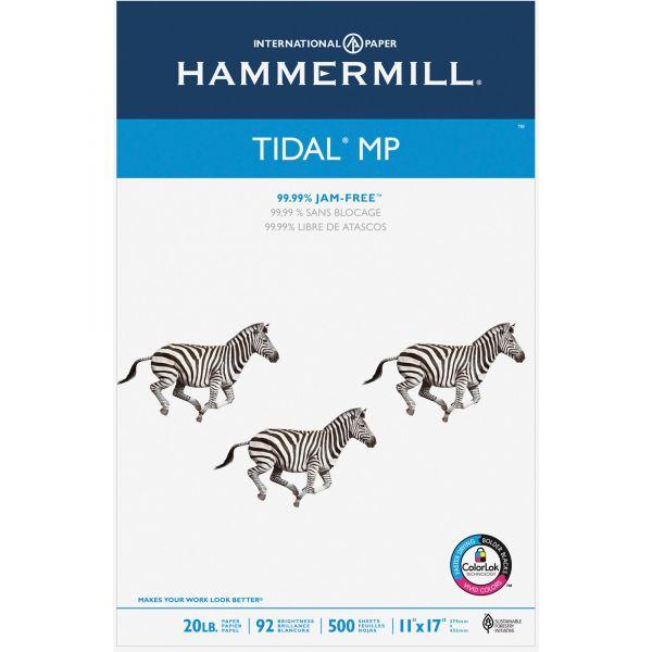 Hammermill Tidal MP Copy Paper, 92 Brightness, 20lb, 11 x 17, White, 500 Sheets/Ream
