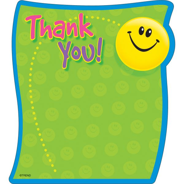 Trend Thank You Note Pad