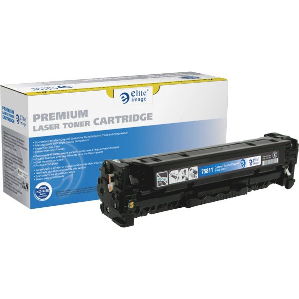 Elite Image Remanufactured HP CE410A Toner Cartridge