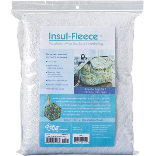 Insul-Fleece Metalized Mylar Insulated Interfacing