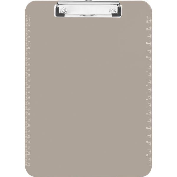 Sparco Plastic Translucent Clipboard