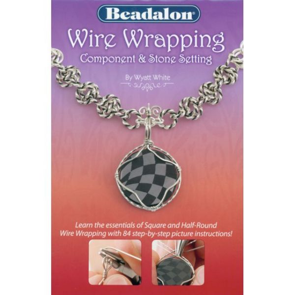 Beadalon Wire Wrapping Component & Stone Setting Book