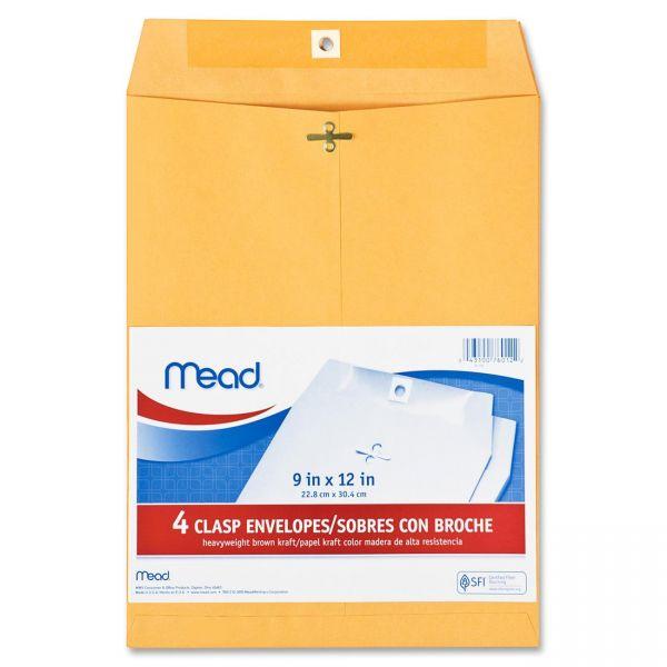 """Mead 9"""" x 12"""" Clasp Envelopes"""