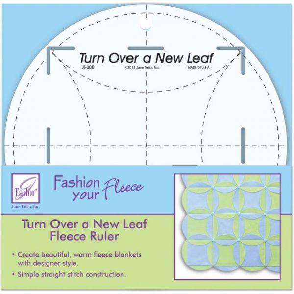 Turn Over A New Leaf Ruler