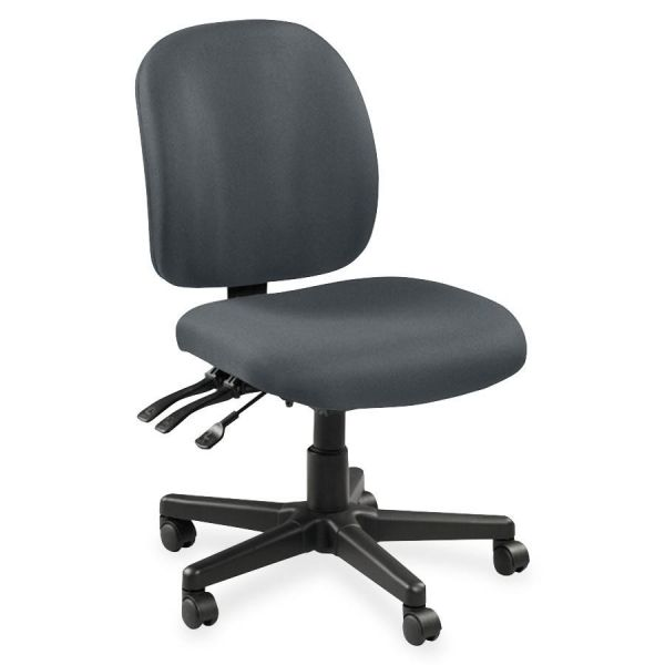 Lorell Mid-Back Task Chair with out ut Arms