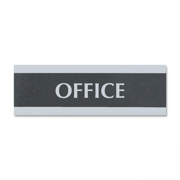 "U.S. Stamp & Sign Century Series ""Office"" Sign"