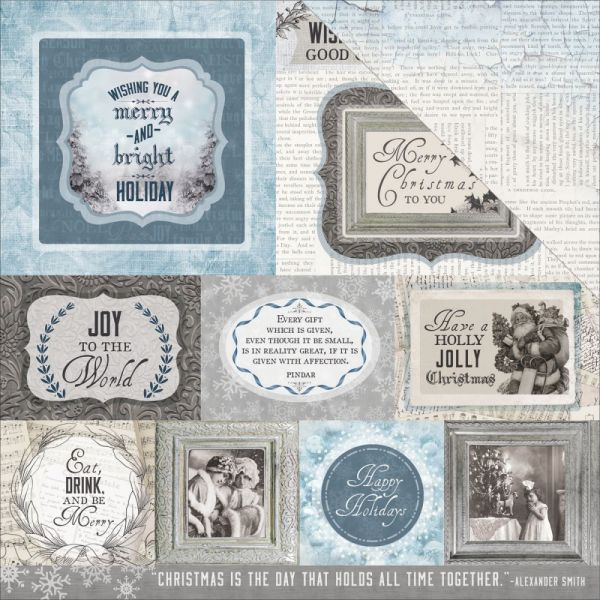 """Frosted Double-Sided Cardstock 12""""X12"""""""