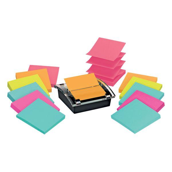 Post-it Super Sticky Pop-up Notes & Dispenser Value Pack