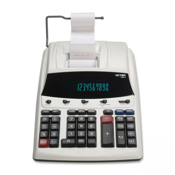 Victor 1230-4 Commercial Printing Calculator