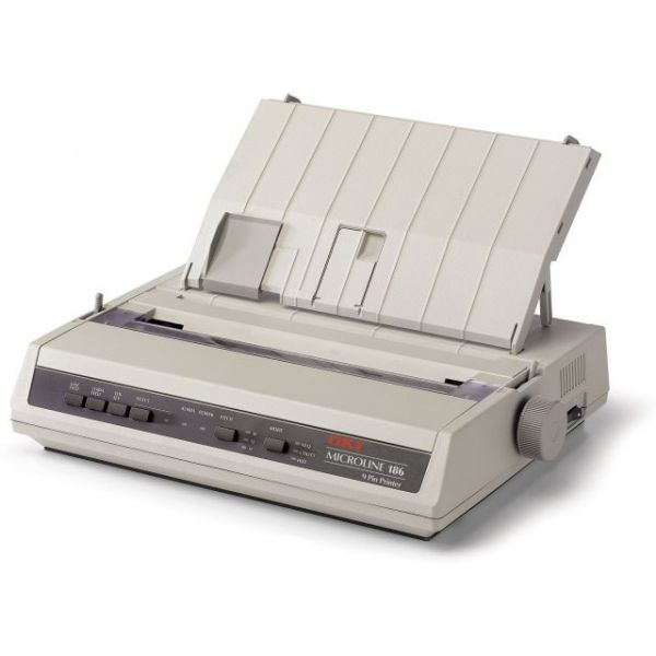Oki MICROLINE 186 Parallel Dot Matrix Printer