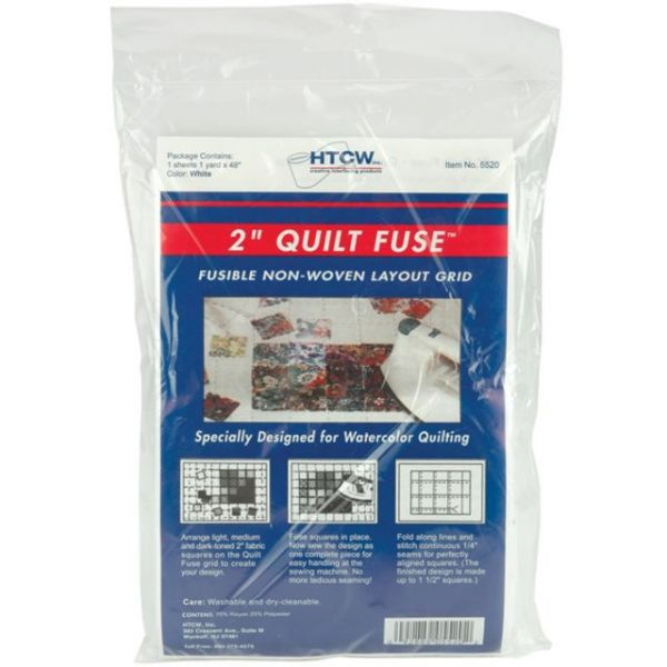 Quilt Fuse Fusible Non-Woven Layout Grid