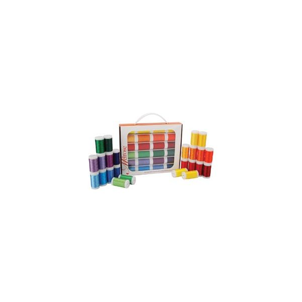 Melrose Trilobal Polyester Thread Assortment 24/Pkg