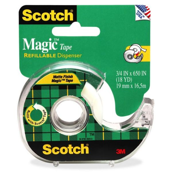 "Scotch Magic 3/4"" Invisible Tape"