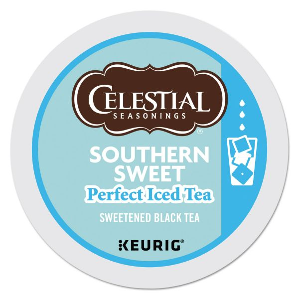 Celestial Seasonings Southern Sweet Iced Black Tea K-Cups