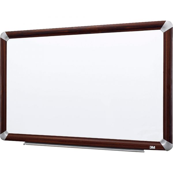 "3M 72"" x 48"" Melamine Dry Erase Whiteboard"
