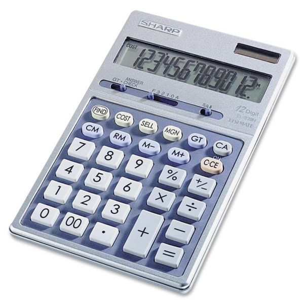 Sharp Calculators Sharp EL339HB Desktop Display Calculator