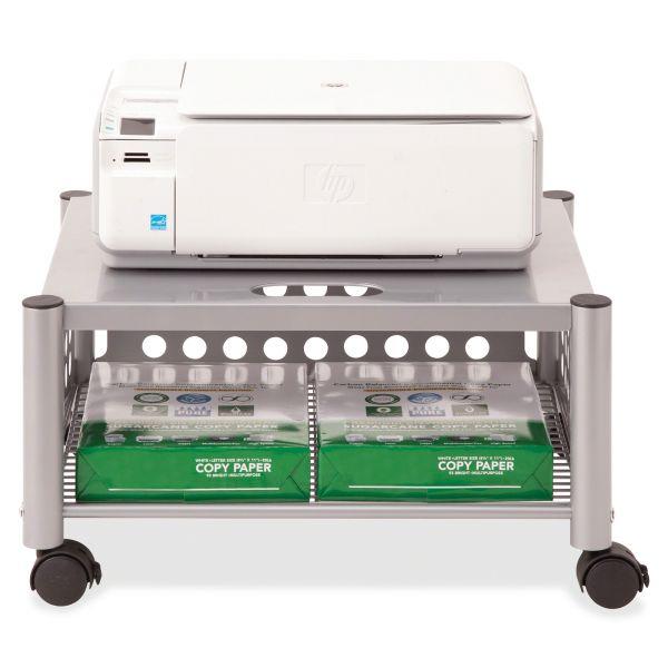 Vertiflex Underdesk Machine Stand, One-Shelf, 21 1/2w x 17 7/8d x 11 1/2h, Matte Gray