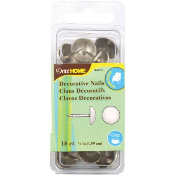 "Upholstery Decorative Nails 5/8"" 18/Pkg"