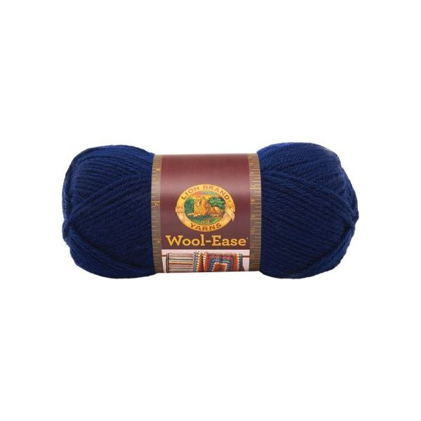 Lion Brand Wool-Ease Yarn - Navy