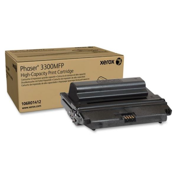 Xerox 106R01412 Black High Capacity Toner Cartridge
