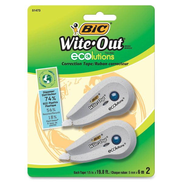 Wite-Out Ecolutions Correction Tape
