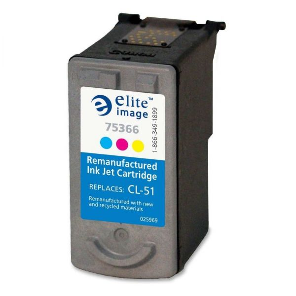 Elite Image Remanufactured Canon CL-51 Ink Cartridge
