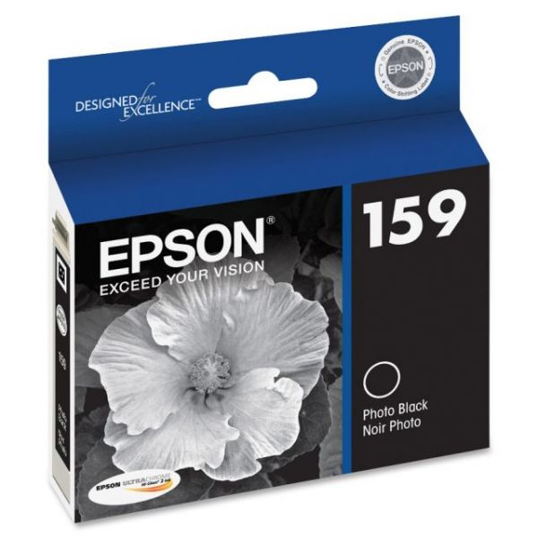 Epson 159 UltraChrome Photo Black Ink Cartridge (T159120)