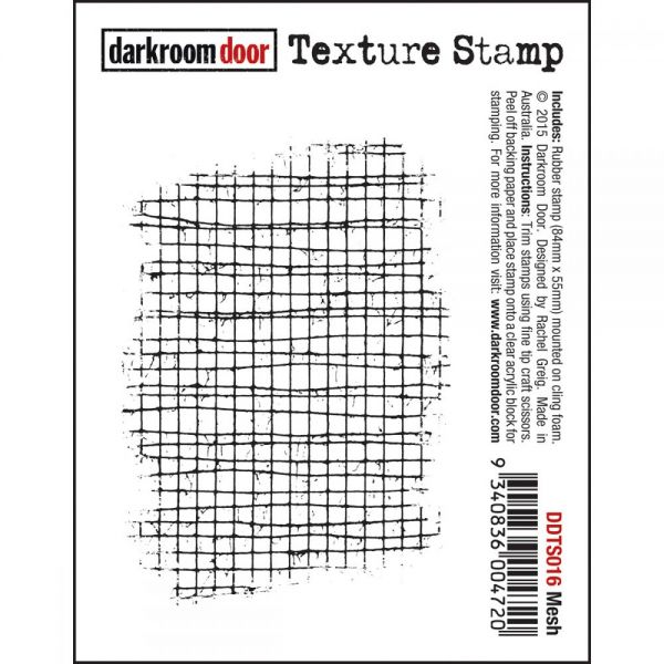 "Darkroom Door Cling Stamp 3""X2"""