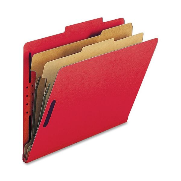 Nature Saver Red Classification Folders
