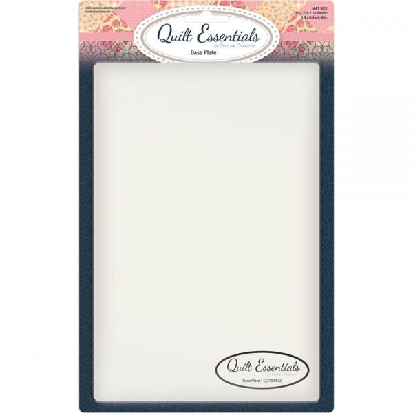 Couture Creations Quilt Essentials Quilting Plate