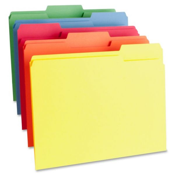 Business Source Top Tab File Folders