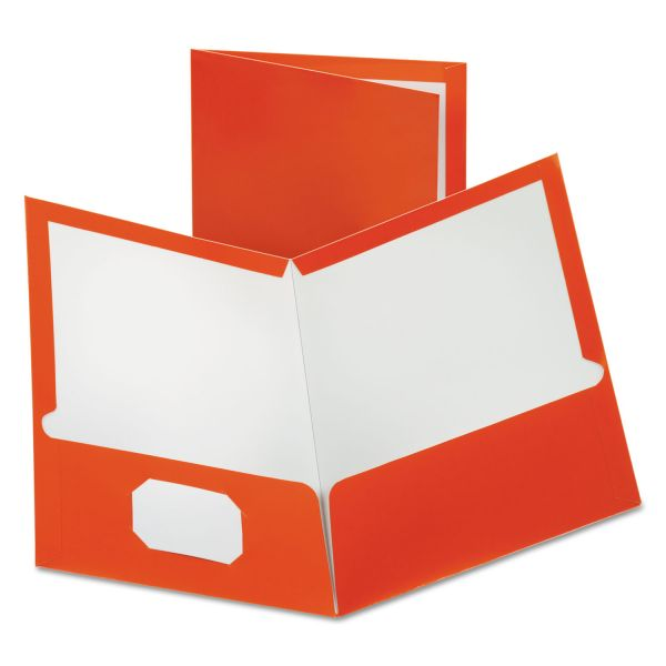 Esselte Laminated Two Pocket Folders