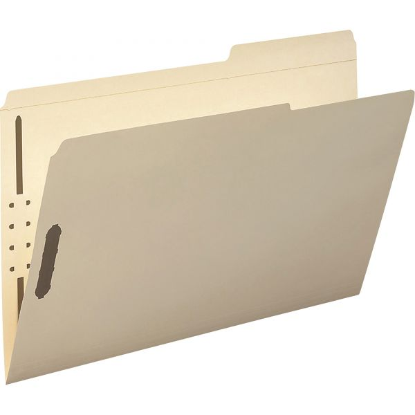 Smead Reinforced Tab Manila File Folders With Fasteners