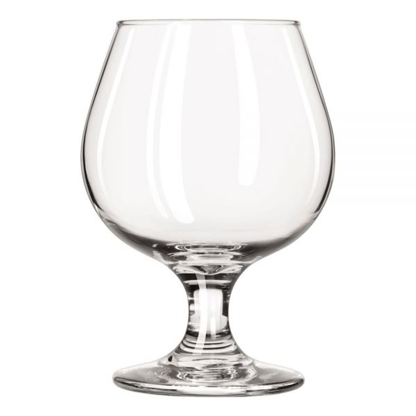 Libbey Embassy Brandy Glasses, 11.50 oz, Clear, Glass