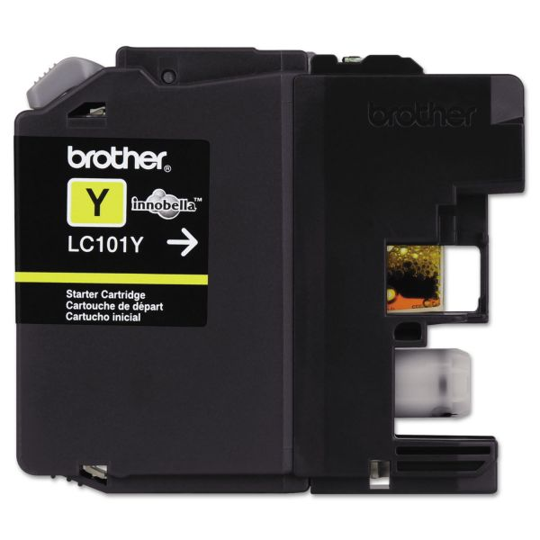 Brother LC101Y Innobella Ink, Yellow
