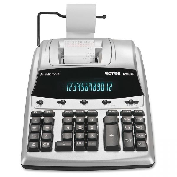 Victor 1240-3A Heavy Duty Commercial Printing Calculator